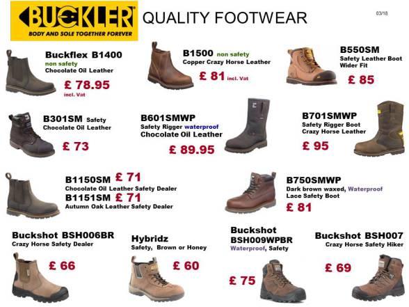 Buckler Footwear