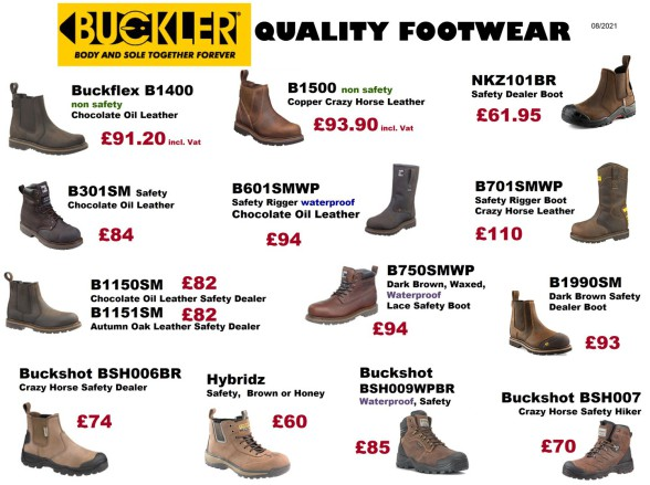 Safety & Non-safety work boots