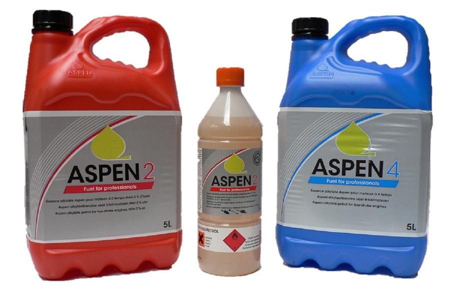 Aspen 2 FRT Pre Mixed 2 Stroke Alkylate Petrol