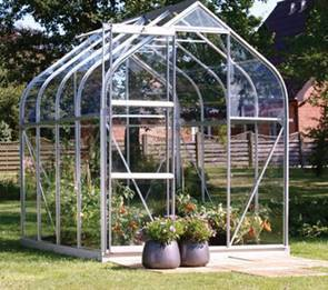 Vitavia greenhouses in Llandrindod Wells